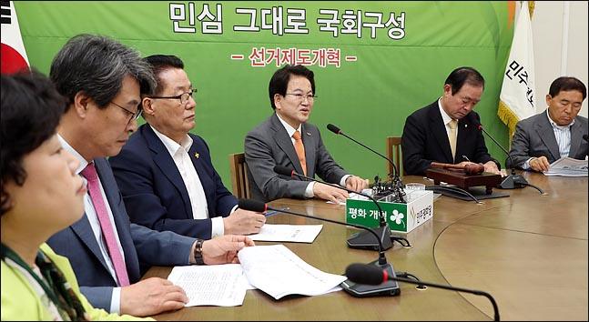 분당하기 전 민주평화당. ⓒ데일리안 박항구 기자