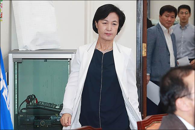 추미애 더불어민주당 의원(자료사진). ⓒ데일리안 류영주 기자
