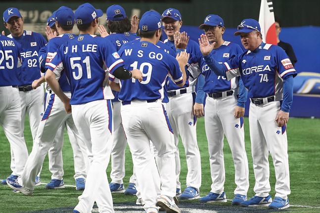 한국 야구가 한일전 승리 후 도쿄돔에 태극기를 꽂을지 관심이 모아진다. ⓒ 데일리안 홍금표 기자
