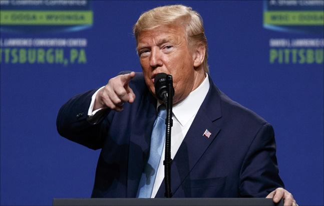 도널드 트럼프 미국 대통령. ⓒ 뉴시스