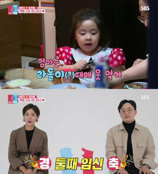 배우 이윤지 정한울 부부의가 SBS