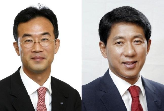 왼쪽부터 이병철 KTB투자증권 부회장, 최석종 사장.ⓒKTB투자증권