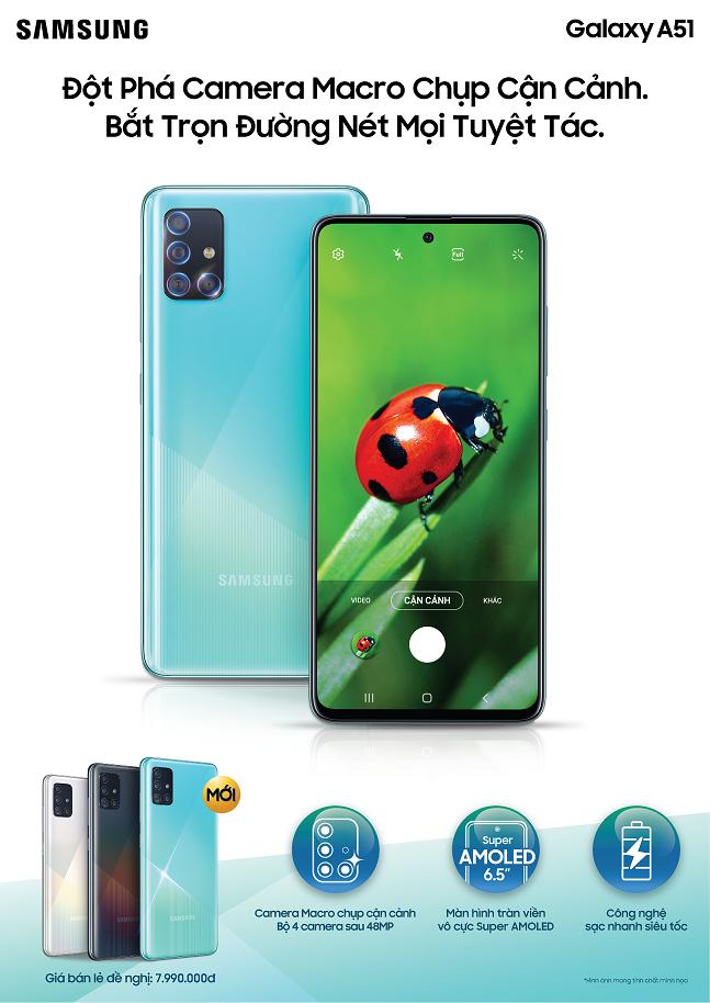 삼성전자 스마트폰 '갤럭시A51