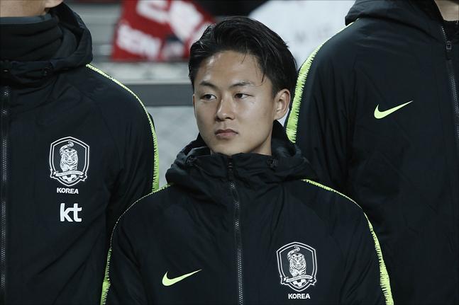 벨기에 리그 데뷔전을 노리는 이승우. ⓒ 데일리안 홍금표 기자