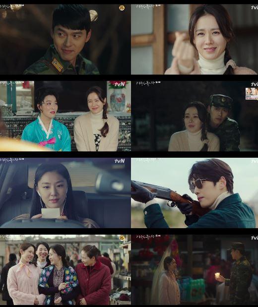 '사랑의 불시착'이 가늠할 수 없는 스토리와 불붙은 전개로 긴장감을 높였다.ⓒ tvN