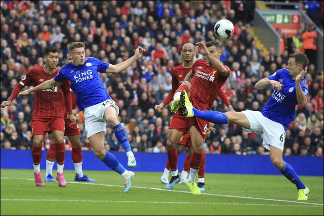 선두 리버풀과 2위 레스터시티가 물러설 수 없는 맞대결을 펼친다. ⓒ 뉴시스