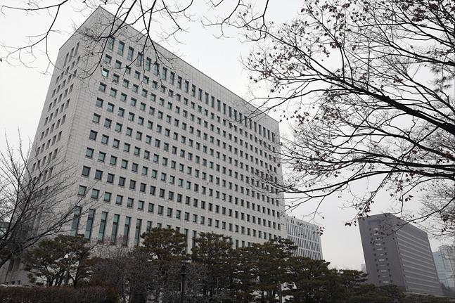 법무부 검찰인사위원회가 개최된 8일 서울 서초구 대검찰청에 긴장감이 흐르고 있다. ⓒ데일리안 홍금표 기자