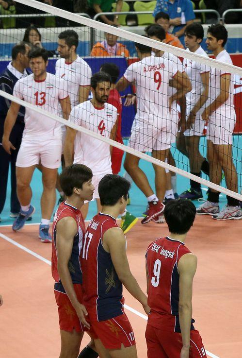 2014 인천아시안게임서 이란에 패한 한국. ⓒ연합뉴스