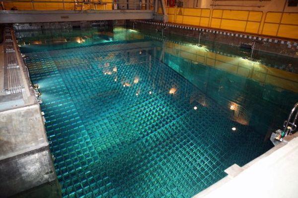 원자력발전소 내 사용핵연료 임시저장시설(습식저장시설)ⓒ한국수력원자력