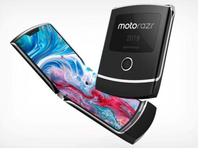 모토로라 폴더블 스마트폰 '레이저'.ⓒ모토로라