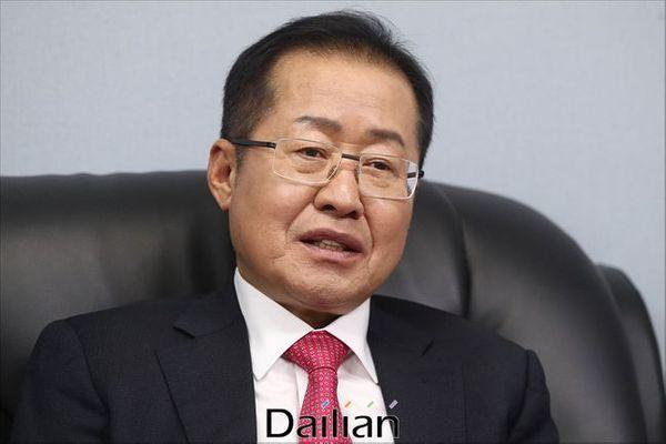홍준표 전 자유한국당 대표ⓒ데일리안 홍금표 기자