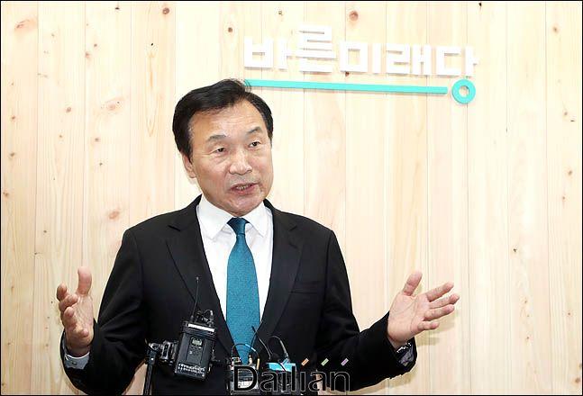 손학규 바른미래당 대표. ⓒ데일리안 박항구 기자