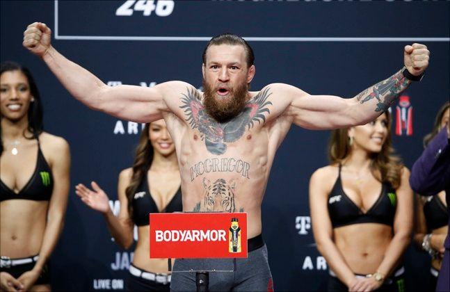 UFC 코너 맥그리거가 19일