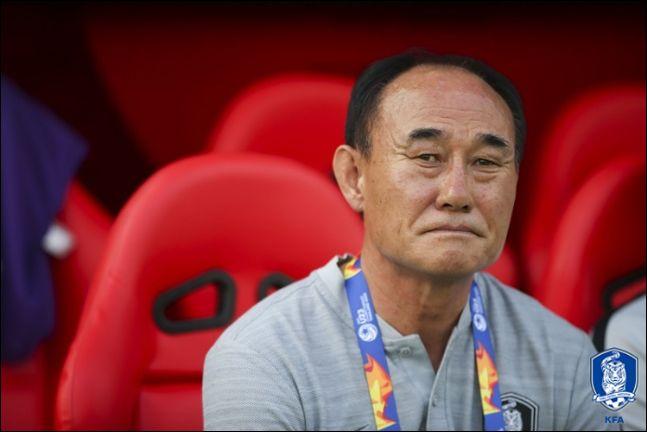 김학범 감독은 매 경기 변화무쌍한 라인업을 선보이고 있다. ⓒ 대한축구협회