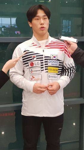 윤성빈이 월드컵 6차 대회에서 은메달을 차지했다. ⓒ 연합뉴스