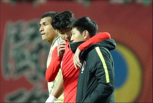 한국 축구의 현재와 미래 손흥민(토트넘)과 이강인(발렌시아)이 설을 맞이해 고국 팬들에게 인사를 전했다. ⓒ 연합뉴스