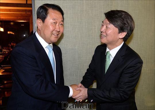 바른미래당 박주선 의원과 안철수 전 대표(자료사진). ⓒ데일리안