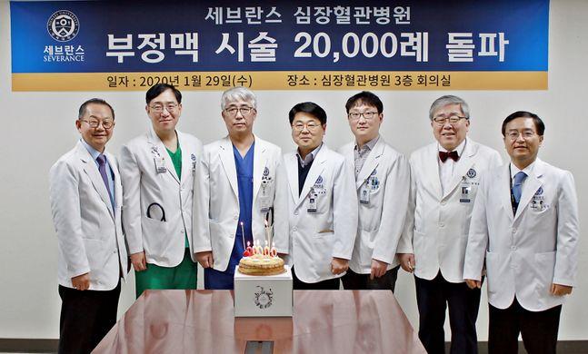 세브란스병원은 부정맥질환 누적 치료 건수가 2만건을 돌파했다고 30일 밝혔다. ⓒ세브란스병원