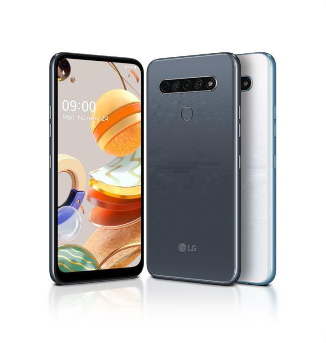 LG전자 실속형 스마트폰 'LG K61'.ⓒLG전자