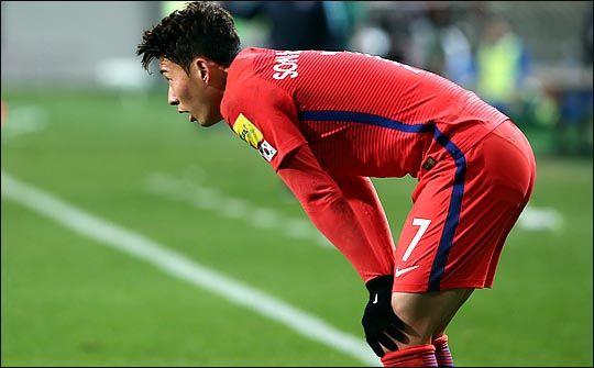 손흥민은 2017년에도 대표팀서 같은 부위 부상으로 수술 받은 바 있다. ⓒ 데일리안 박항구 기자