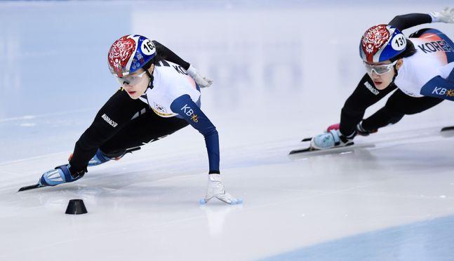 내달 열릴 예정인 2020 쇼트트랙 세계선수권의 개최 여부가 불투명하다. ⓒ 뉴시스