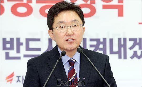 4·15 총선에서 서울 구로을에 출마하는 김용태 미래통합당 의원(자료사진). ⓒ데일리안 박항구 기자