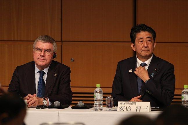 바흐 IOC 위원장이 도쿄올림픽 취소설을 일축했다(자료사진). ⓒ 뉴시스