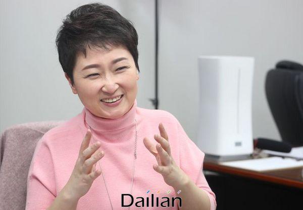 4·15 총선 부산 남을 공천이 확정된 이언주 미래통합당 의원이 의원회관에서 데일리안과 인터뷰를 갖고 있다. ⓒ데일리안 박항구 기자