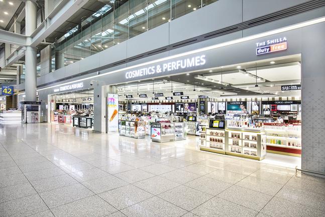 인천공항 제1터미널 신라면세점 ⓒ호텔신라