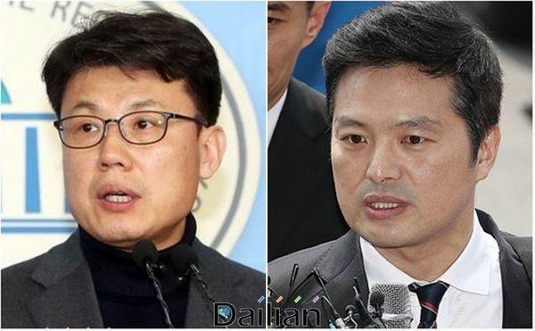 서울 강서을에서 맞붙게 된 진성준 민주당 후보와 김태우 미래통합당 후보 ⓒ데일리안
