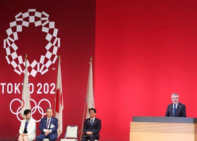 코로나19 확산에 연기론에 휩싸인 2020 도쿄올림픽. ⓒ 뉴시스