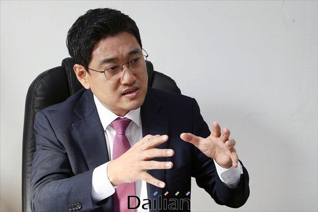 21대 총선 서울 관악을에 출마한 오신환 미래통합당 후보 ⓒ데일리안 홍금표 기자