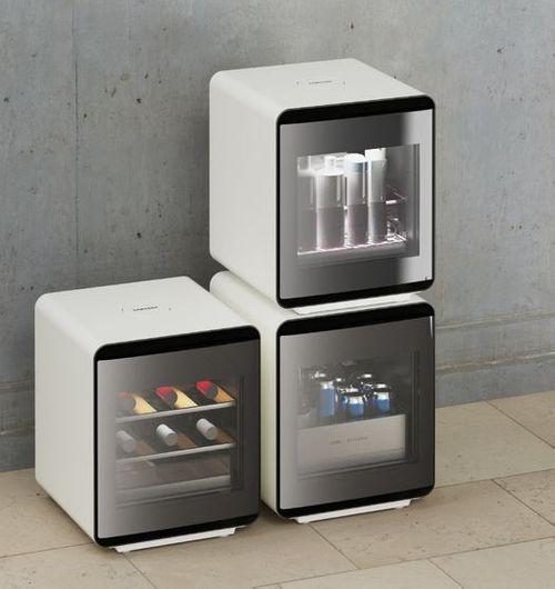삼성전자 큐브 냉장고 라이프스타일 사진.ⓒ삼성전자