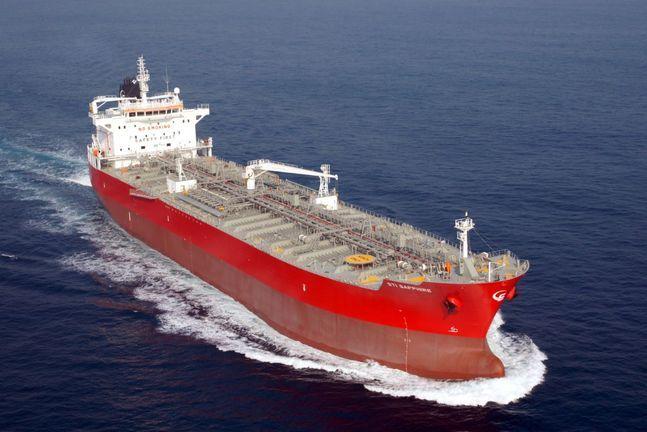 현대미포조선이 건조한 5만톤급 PC선ⓒ현대미포조선