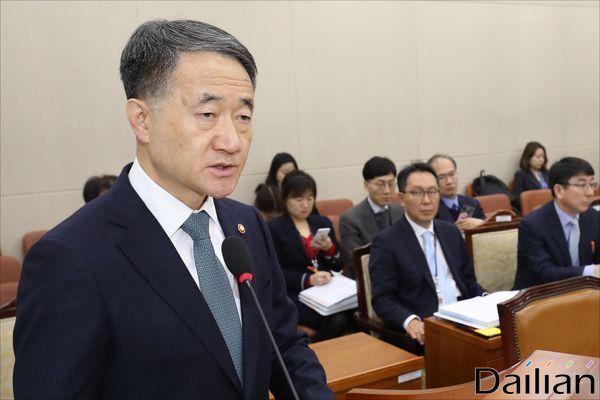 박능후 보건복지장관 (자료사진) ⓒ데일리안 홍금표 기자