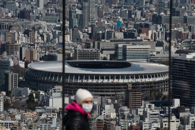 도쿄 올림픽이 1년 연기될 경우 경제적 손실은 7조 원을 훌쩍 넘길 것으로 보인다. ⓒ 뉴시스