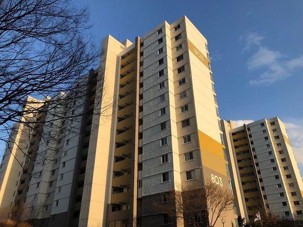 경기도 과천시에 위치한 한 아파트 단지 모습. ⓒ이정윤 기자