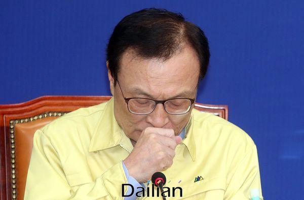 231차 민주당 최고위원회 주재한 이해찬 대표 ⓒ데일리안 박항구 기자