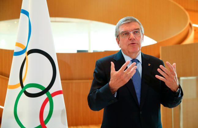 토마스 바흐 IOC 위원장. ⓒ 뉴시스