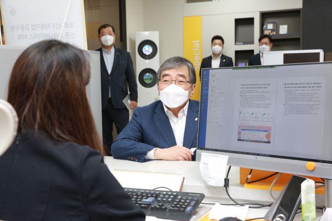 """윤석헌 금융감독원장이 26일 """""""