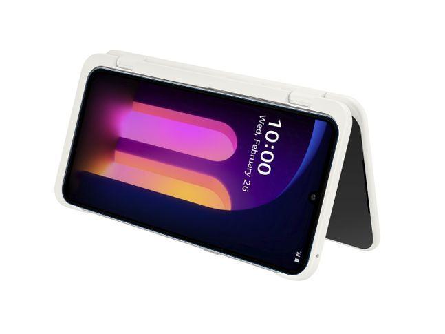 LG전자 플래그십 스마트폰 'V60 씽큐 5G'.ⓒLG전자