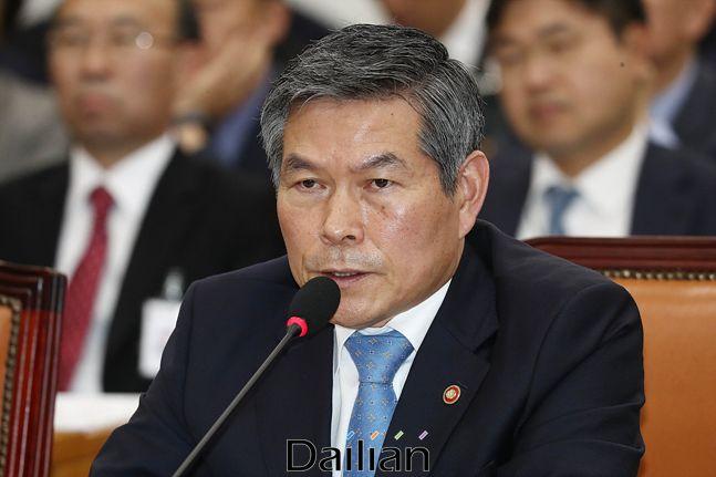 정경두 국방부 장관 (자료사진). ⓒ데일리안 홍금표 기자