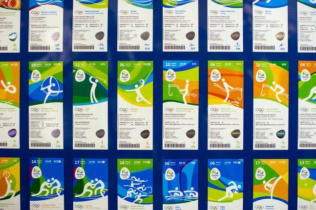 2020 도쿄 올림픽 티켓. ⓒ 뉴시스