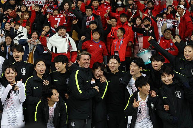 여자축구 대표팀. ⓒ 데일리안 류영주 기자