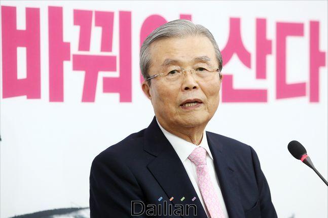 김종인 미래통합당 총괄선대위원장이 기자회견을 하고 있다. ⓒ데일리안 홍금표 기자