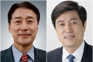 김창룡(왼쪽) 방송통신위원회 상임위원, 안형환 한양대 언론정보대학원 특임교수. ⓒ청와대