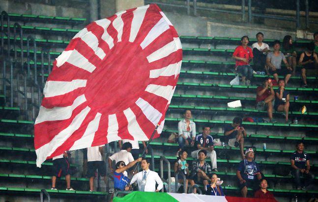 도쿄올림픽 경기장에 욱일기 반입이 허락된다. ⓒ 뉴시스
