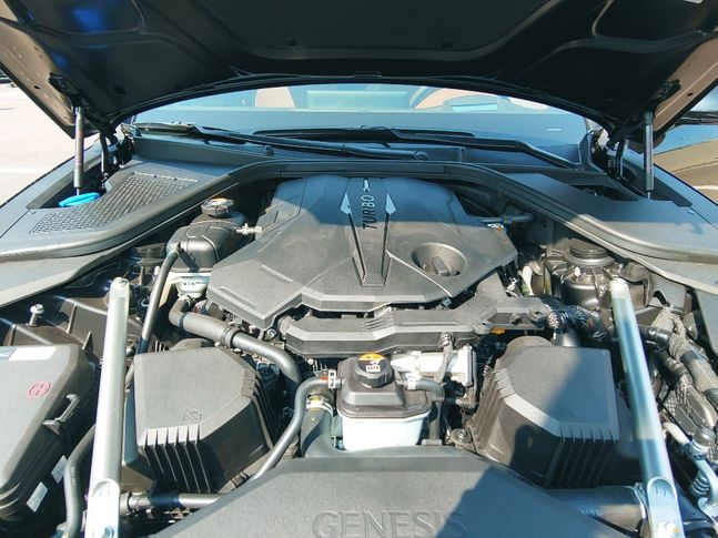 G80 3.5 가솔린 터보ⓒ데일리안 조인영 기자