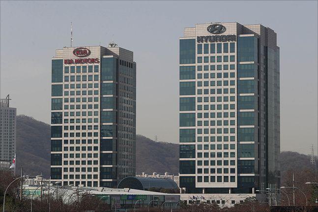 서울 양재동 현대기아자동차 본사 전경. ⓒ데일리안 홍금표 기자
