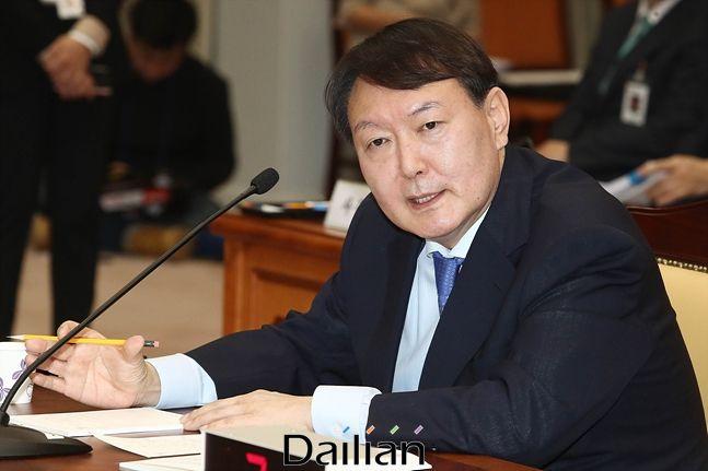 윤석열 검찰총장 (자료사진) ⓒ데일리안 박항구 기자